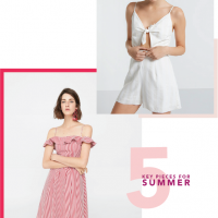 5 Key Pieces For Your Summer Wardrobe