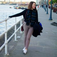 A little life update & my favourite check trousers